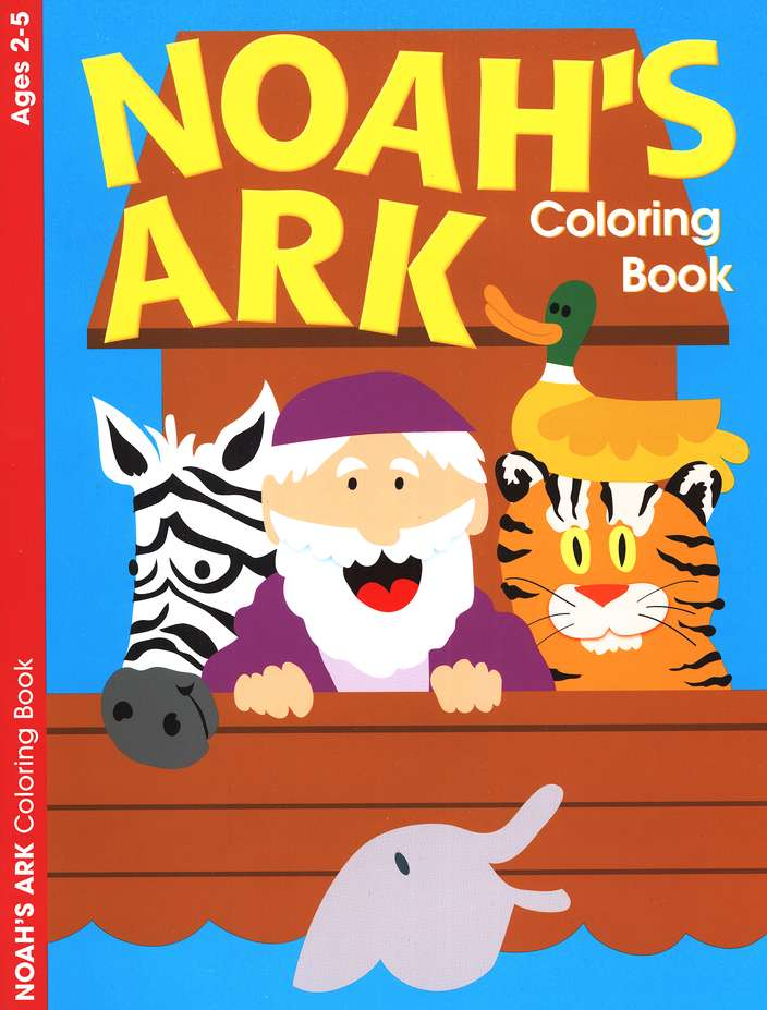 Noah's Ark Coloring Book--Ages 2 to 5