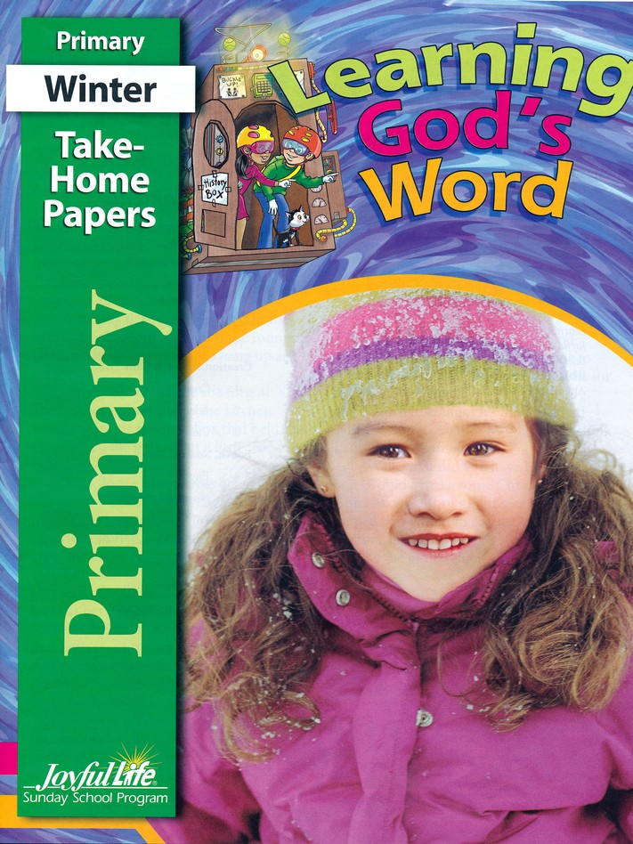 Learning God's Word Primary (Grades 1-2) Take-Home Papers