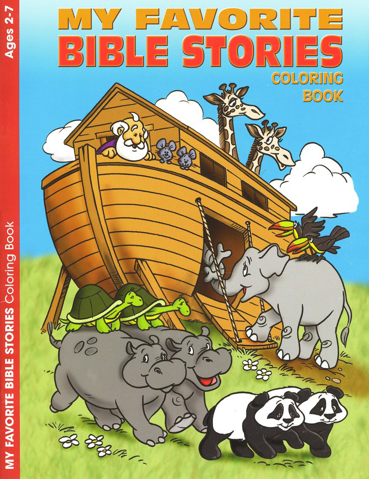 Favorite Bible Stories, Ages 2-7 Coloring Book