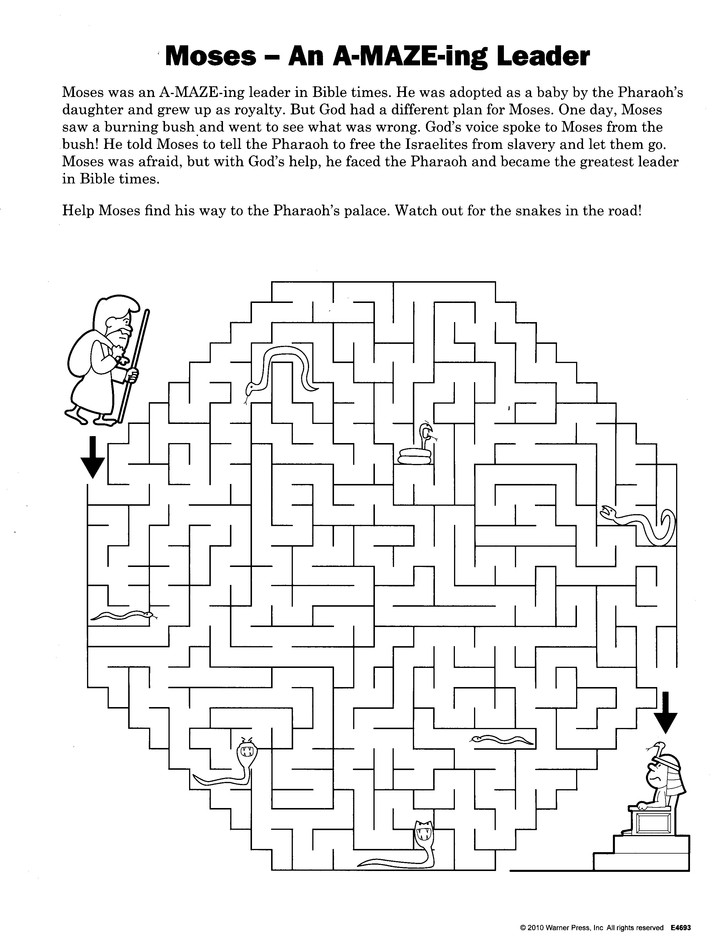God is A-Maze-ing, Ages 6-10