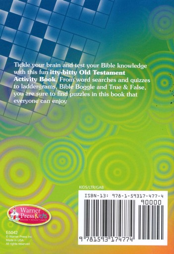 itty-bitty Old Testament Activity Book