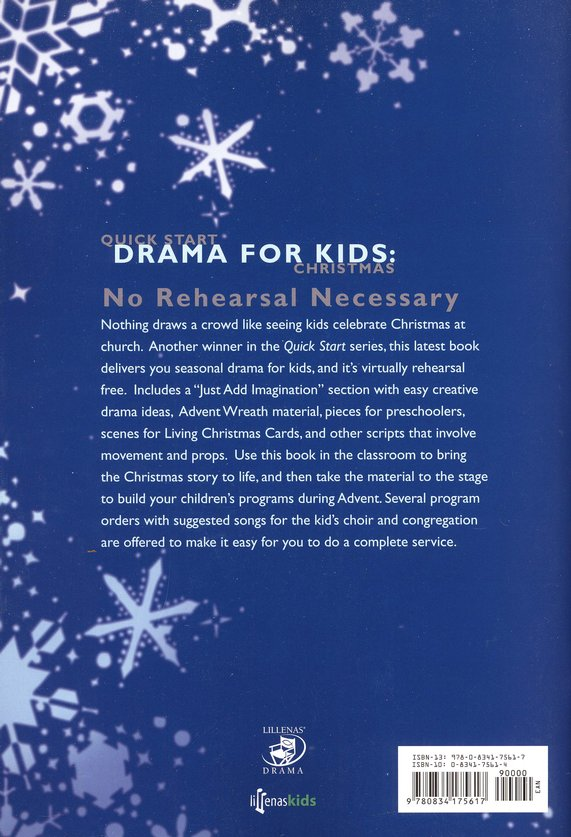 Quick Start Drama for Kids: Christmas
