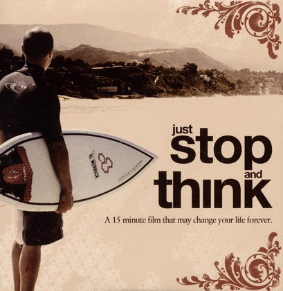 Stop and Think, DVD