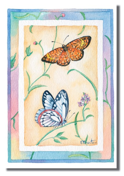 Butterfly Birthday for Her Cards, Box of 12