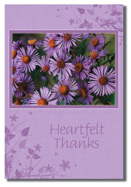 Flowers Thank You Cards, Box of 12