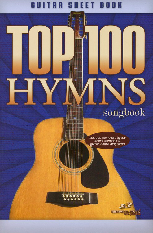Top 100 Hymns Guitar Sheet Book