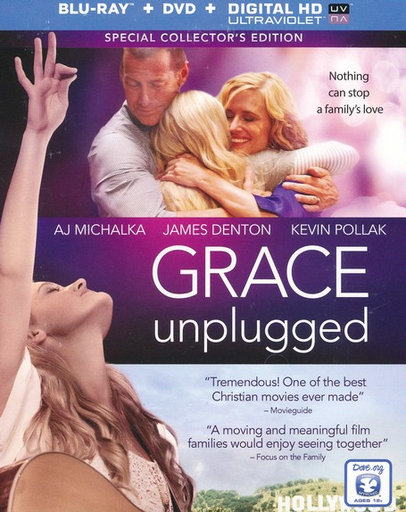 Grace Unplugged: Special Collector's Edition,  Blu-ray/DVD/HD Digital Copy