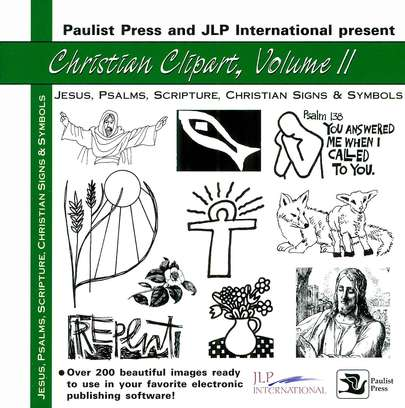 Christian Clipart II: Jesus, Psalms and Scripture