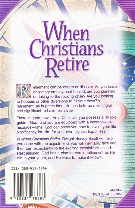 When Christians Retire: Finding New Purpose in Life After Work