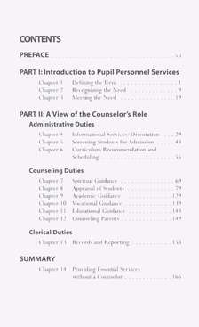 Charting the Course: Pupil Personnel Services in the Christian School
