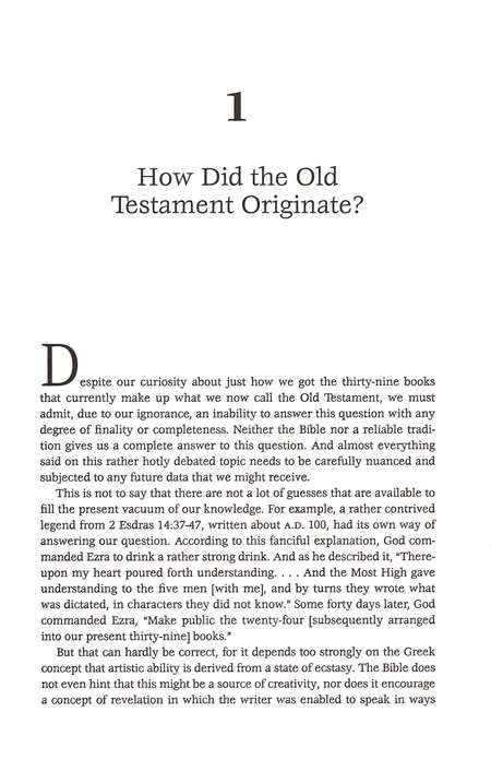 The Old Testament Documents: Are They Reliable and Relevant?