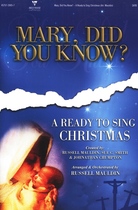 Mary, Did You Know? (Choral Book)