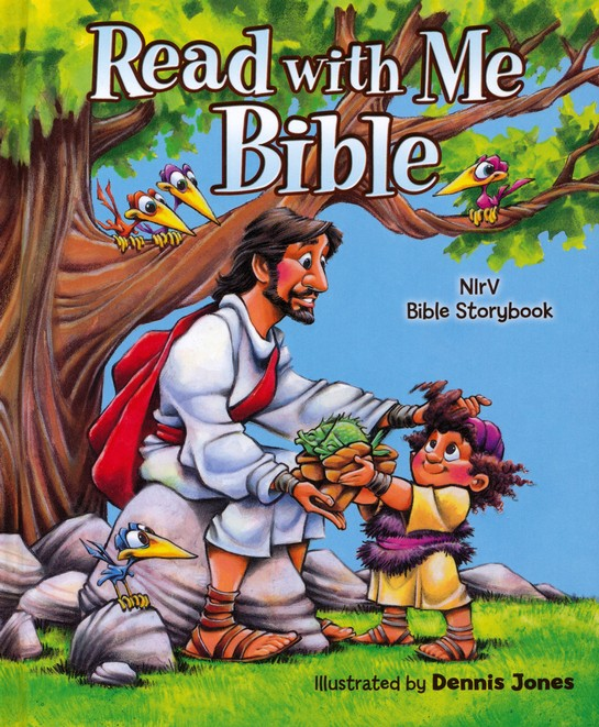 NIrV Read with Me Bible, Revised and Updated Hardcover