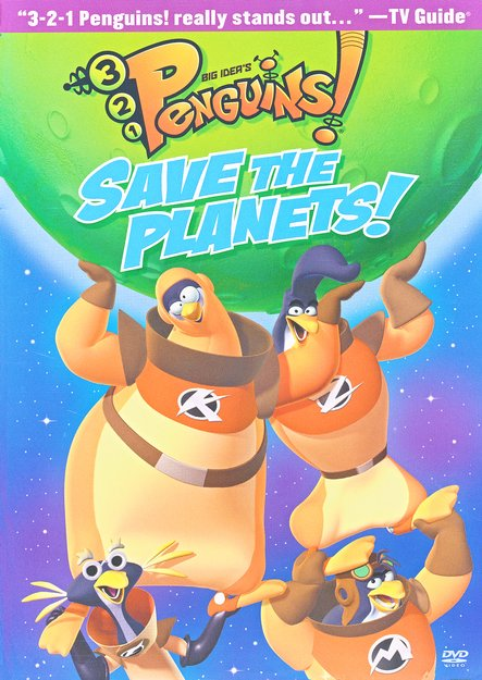 Save the Planets! 3-2-1 Penguins! #7, DVD