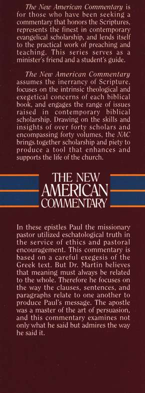 1 & 2 Thessalonians: New American Commentary [NAC]