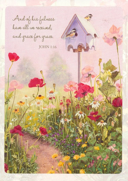 Peaceful Garden Blank Cards, Box of 12