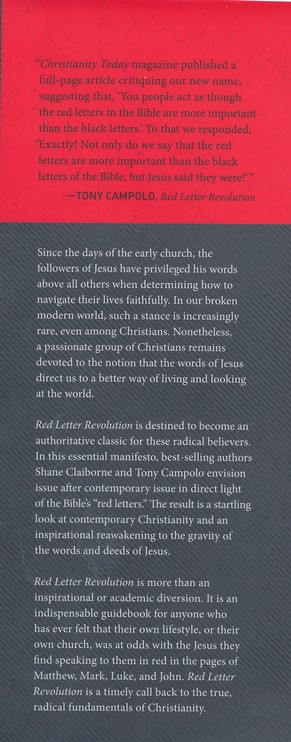Red Letter Revolution: What if Jesus Really Meant What He Said