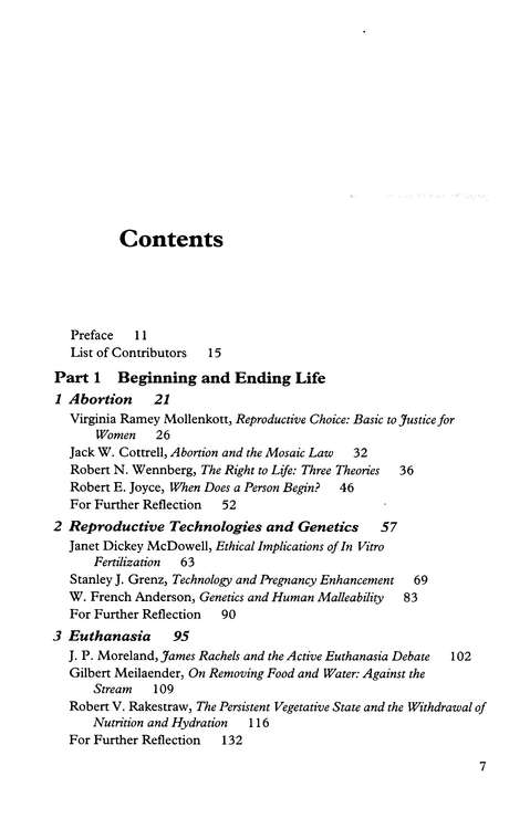 Readings in Christian Ethics Issues and Applications, Volume 2
