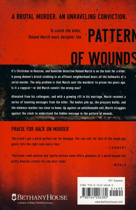 Pattern of Wounds, Roland March Mystery Series #2