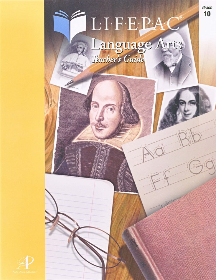 Lifepac Language Arts, Grade 10, Teacher's Guide