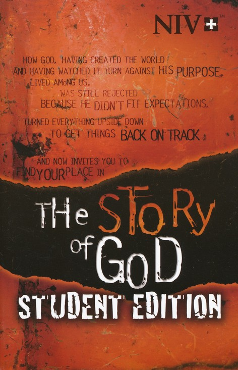 NIV The Story of God Student Edition Bible, softcover