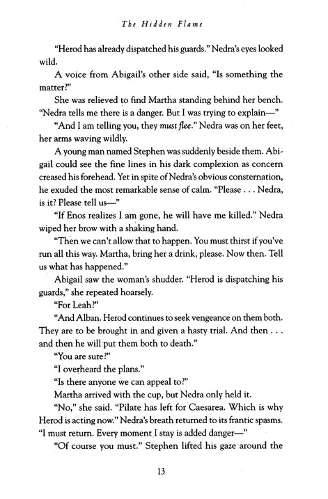 The Hidden Flame, Acts of Faith Series #2