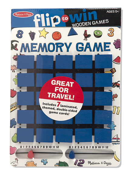 Flip to Win Memory Travel Game