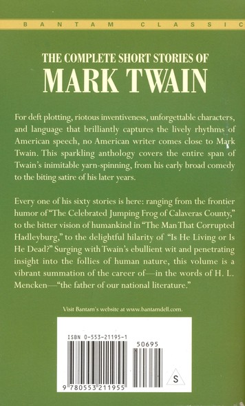 The Complete Short Stories of Mark Twain, Vol. 1