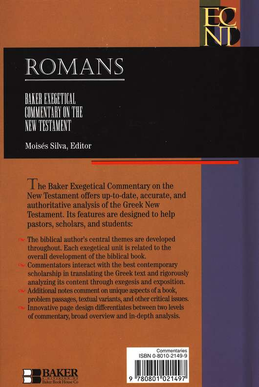 Romans: Baker Exegetical Commentary on the New Testament [BECNT]