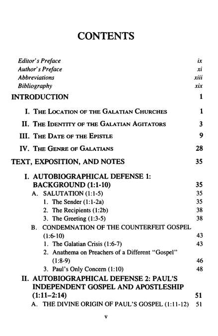 The Epsitle to the Galatians: New International Commentary on the New Testament [NICNT]