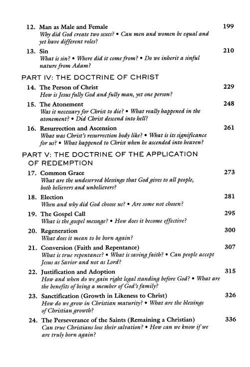 Bible Doctrine (abridged from Systematic Theology)
