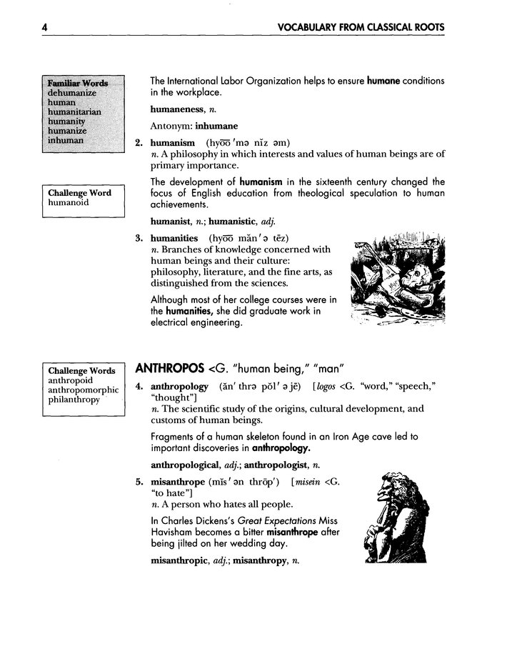 Vocabulary from Classical Roots Book C (grade 9)