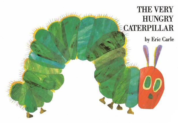 The Very Hungry Caterpillar, Board Book