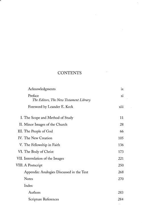 Images of the Church in the New Testament: New Testament Library [NLT]