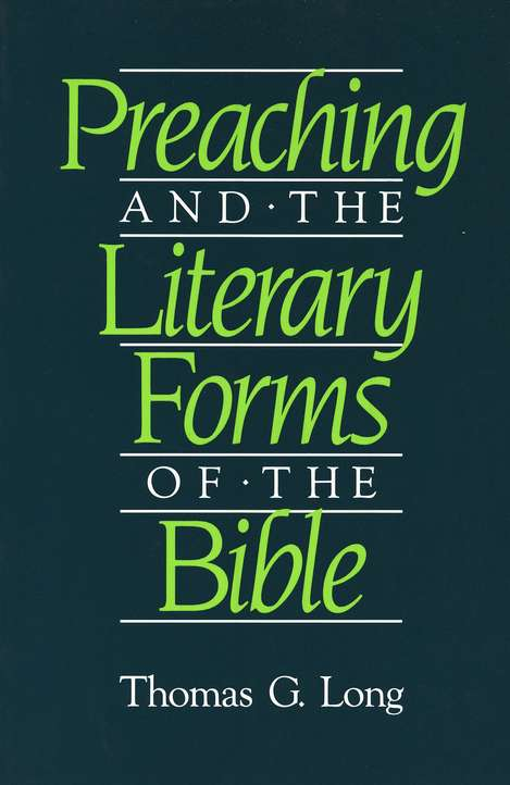 Preaching and Literary Forms of the Bible