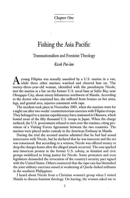 Off the Menu: Asian and Asian North American Women's Religion and Theology