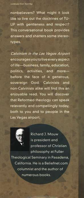 Calvinism in the Las Vegas Airport