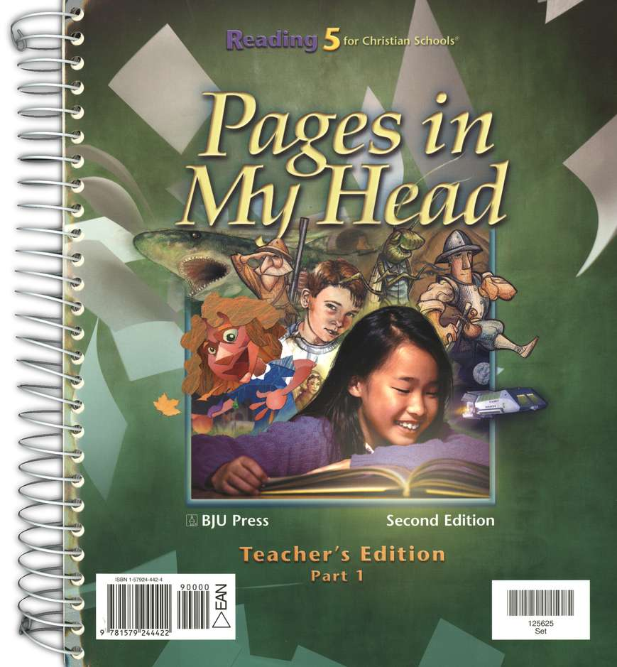 BJU Reading Grade 5 Homeschool Kit