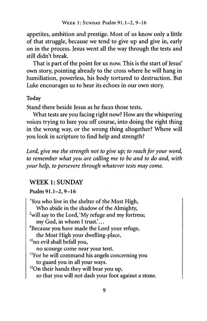 Luke, Year C: Lent for Everyone Devotional