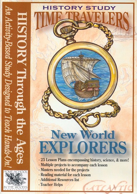 Homeschool in the Woods Time Traveler History Study CD-ROM Bundle