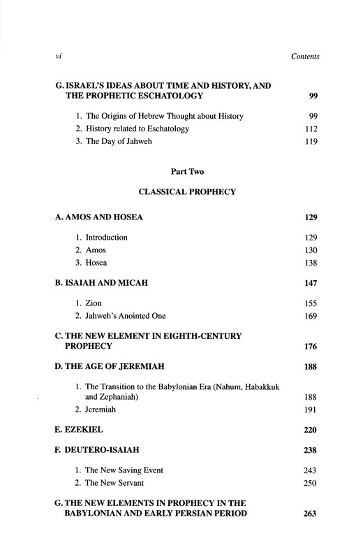 Old Testament Theology, Vol. 2: Old Testament Library [OTL]