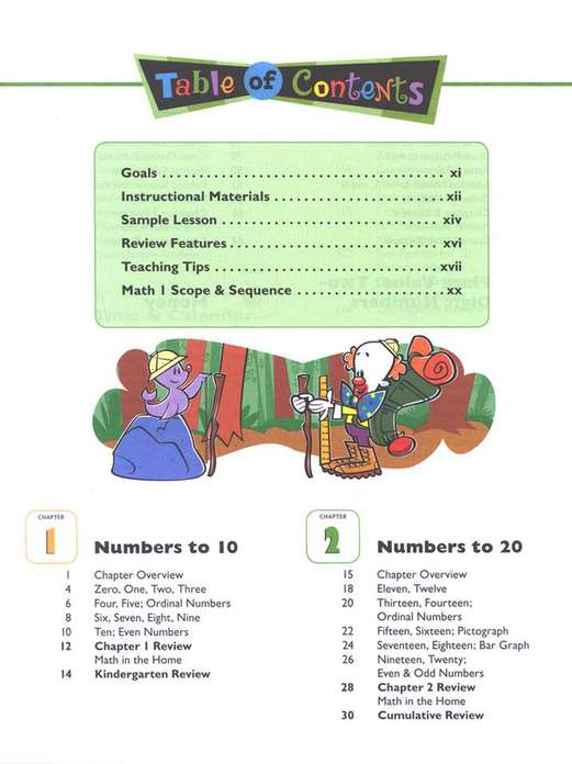 BJU Math Grade 1 Homeschool Kit, Third Edition