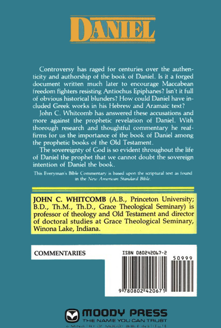 Daniel, Everyman's Bible Commentary