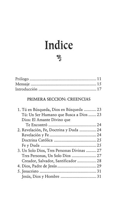 Manual Católico Esencial  (Essential Catholic Manual)