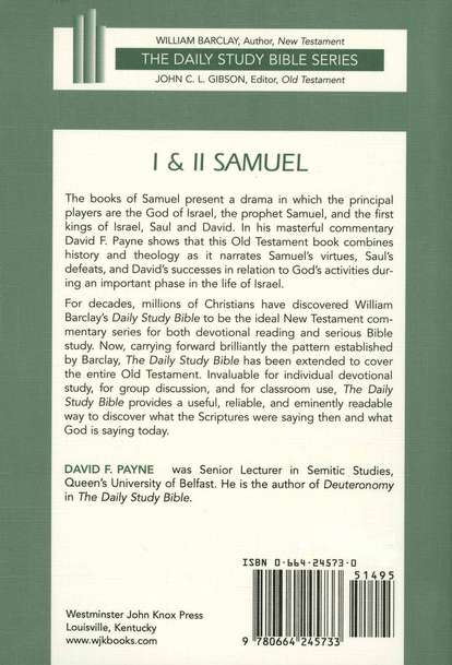 1 & 2 Samuel: New Daily Study Bible [NDSB]