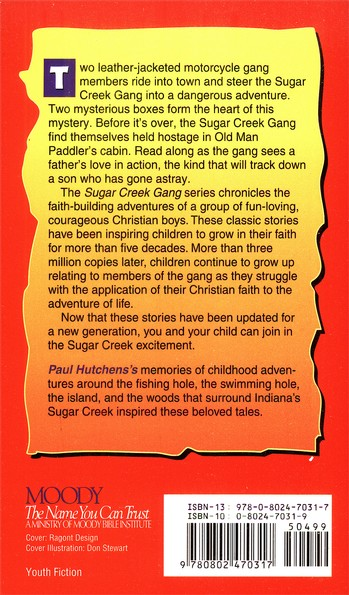 The Brown Box Mystery, Sugar Creek Gang Series # 27