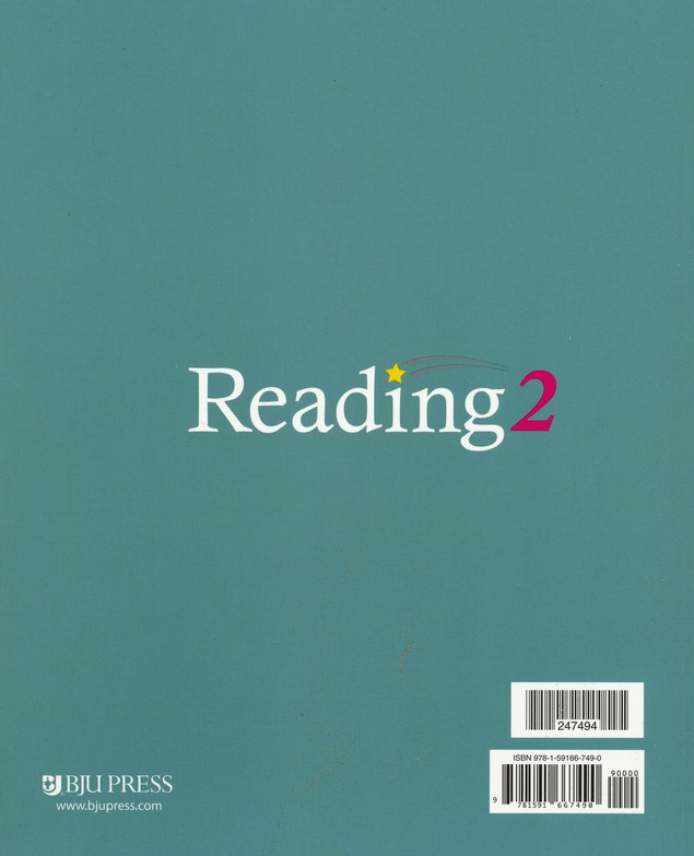 BJU Reading 2A Student Text, Grade 2, Volume 1