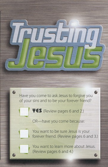 Trusting Jesus (NLT), Pack of 25 Tracts