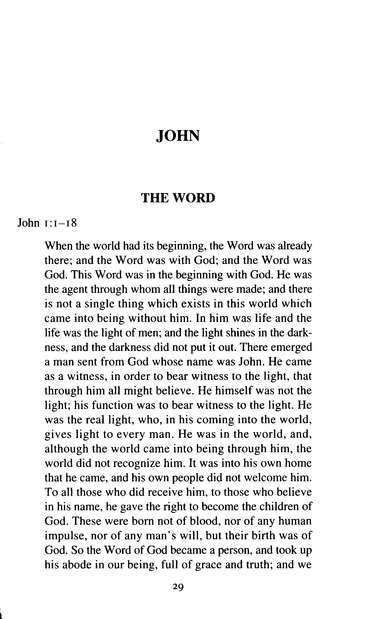 The Gospel of John, Volume 1: New Daily Bible Study [NDSB]