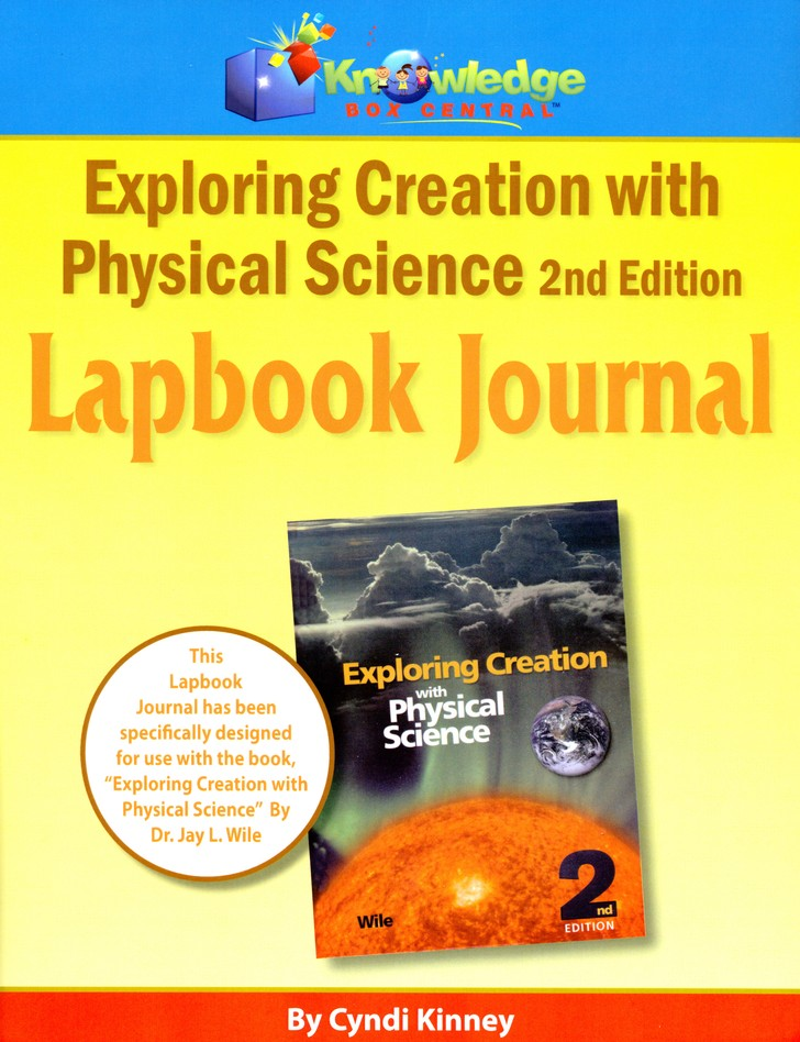Apologia Exploring Creation With Physical Science 2nd Edition Lapbook Journal